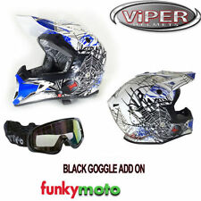 Cascos decorado de motocross y quads talla XL para conductores