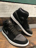 Nike Air Jordan 1 Mid SE Men's Black Anthracite-White 852542-012 Shoes Sz 8