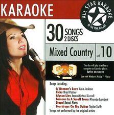 Vol. 10 Karaoke: Mixed Country : ASK-72 Mixed Country Karaoke Vol.10; Jak CD