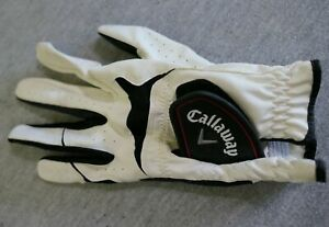 Callaway Synthetic Leather Golf Glove Left Hand Men's ML Medium Large