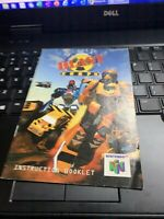 Blast Corps Nintendo 64 N64 Booklet INSTRUCTION MANUAL ONLY