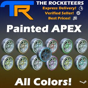 [PC] Rocket League Every painted APEX Limited Wheels RLCS Reward Drop Rare