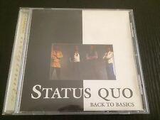 """Back To Basics"" Status Quo (CD, BMG Australia, 1996) 21 Tracks *GC*"