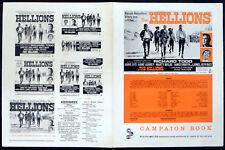 HELLIONS 1962 Richard Todd, Anne Aubrey, Marty Wilde UK CAMPAIGN BOOK