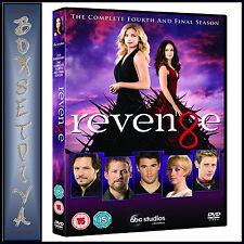 REVENGE - COMPLETE SEASON 4 - FINAL SEASON  **BRAND NEW DVD*