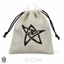 Q-workshop Dice Bag Cthulhu Linen w/ Drawstring BCTH101
