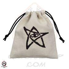 Q-workshop Dice Bag Cthulhu Linen w/ Drawstring BCTH101