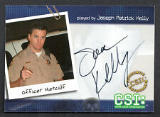 CSI SERIES 2 (2004) AUTOGRAPH CARD #CSI-B8 JOSEPH PATRICK KELLY