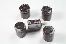 10-PCS Nichicon Electrolytic Capacitors PJ 680uF 50V 105c