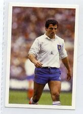 (Jh039-100) RARE, Trade Card Booster of Pierre Berbezier, Rugby 1986 MINT