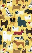 "OOP! ADORABLE! - ""DOGS ALLOVER"" BY TIMELESS TREASURE - FQ - 18""22"""