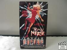 Raw Nerve VHS Ted Prior, Sandahl Bergman, Traci Lords