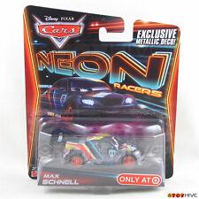 Disney Pixar Cars 2014 Neon Racers - Max Schnell - exclusive metallic deco
