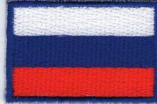 écusson ECUSSON PATCHE THERMOCOLLANT DRAPEAU RUSSIE DIMENSIONS 4,5 X 3 CM