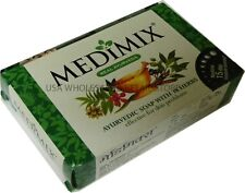 2 x  Two bars of  70g Medimix Ayurvedic Soap All Natural 18 Herbs Acne Pimples