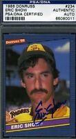Eric Show Signed 1986 Donruss Psa/dna Certified Autograph Authentic
