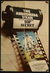 Andromeda Strain - original 1sh poster (USED)