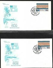 PALAU 1983 FIRST DAY COVER INAUGURATION OF POSTAL SERVICE