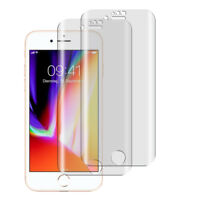 2 x Panzerfolie iPhone 7 iPhone 8 TPU 3D Komplett Rand Full Displayschutz Folie