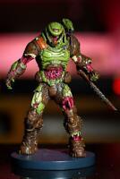 """Doom Eternal Zombie Doom Slayer Statue Figure 8"""" Polyresin Doomguy - Bethesda"""