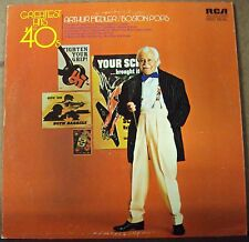 ARTHUR FIEDLER Greatest Hits of the '40's LP OOP easy-pop