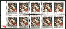 Madonna & Child by Sirani UNFOLDED Never Bound MNH Booklet Pane Scott 2871a
