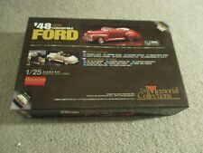 Union Memorial Collections '48 1948 Ford Convertible 1/25 Kit Complete Unbuilt