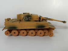 Char Allemand Tigre 2e Guerre WW2 militaire tank SOLIDO Made France n° 222 1969