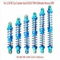 Für 1/10 RC Auto Crawler Axial SCX10 TRX4 D90 Öl Einstellbare Metall Stoßdämpfer