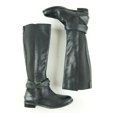 Sperry Top Sider Women's Boots Size 6 M Knee High Leather Buckle Black NEW