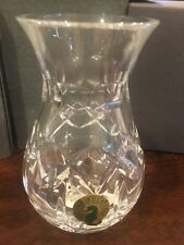 """1997 Waterford Society Crystal Vase 924 784 5300  Height ~4.5"""""""