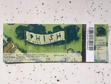 Phish 7/3/12 Nikkon, Jones Beach, Ny Ptbm Ticket Stub Pollock Poster Print!