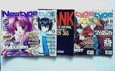 Newtype Magazine Lot Of 5 2004 Feb Mar May June Nov Manga Anime Yu-gi-oh! etc.