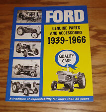 1939-1966 Ford Tractor Genuine Parts & Accessories Sales Brochure