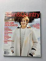 Town & Country Magazine December 2003 - Sigourney Weaver