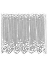Heritage Lace BLOSSOM Tier 42x24 WHITE Made in USA