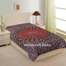 Bohemian Room Tapestry Mandala Bedspread Hippie Indian Wall Hanging Cover Decor