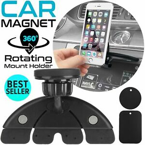 Universal CD Slot Mobile Phone Holder for In Car Stand Cradle Mount GPS iPhone