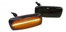 Original Lightbar Led Clignotant Latéral Noir pour Audi A2 A3 8L A4 B5 A6 4B Tt