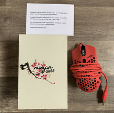 *SAME DAY SHIPPING* Finalmouse Air58 Ninja Gaming Mouse - Cherry Blossom Red