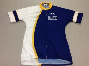 VOLER CYCLING FULL ZIP RACING DURR JERSEY MENS ADULT LARGE MADE IN USA