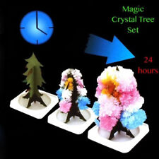 New Magic Growing Christmas Tree Crystal Paper Christmas Decoration Science Toy