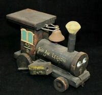 SOCIETY OF FORTY AND EIGHT/ AMERICAN LEGION WOODEN TRAIN CIRCA1940s