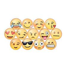"""5 Glas Emoji Emoticon Smiley LäCheln 1"""" KüHlschrank Magnete Heissen"""