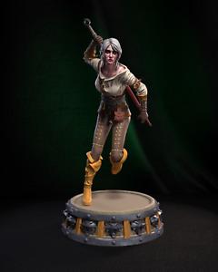 3D Printed - Resin - Ciri - The Witcher - H3llcreator - Bust + Figurine