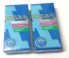 5 Boxes RIZLA 5.7mm ULTRA SLIM FILTER TIPS PRE-CUT CIGARETTE TOBACCO 600 Tips