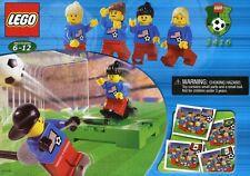 LEGO Sports Soccer 3416 Women's Team *RETIRED SEALED*