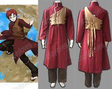 Naruto Gaara Shippuden 4th Cosplay Costume