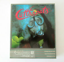 Infocom Cutthroats Commodore 64 Interactive Fiction Video Game w/ Hint Booklet