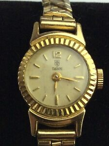"""Ladies Vintage Tudor """"GOLD PLATED"""" Wrist Watch Available Worldwide"""